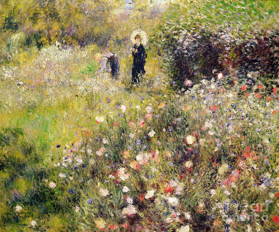 Summer Painting - Summer Landscape by Pierre Auguste Renoir