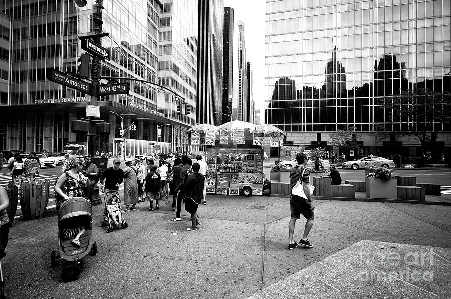 Baby Photograph - Summer Life In New York City by John Rizzuto