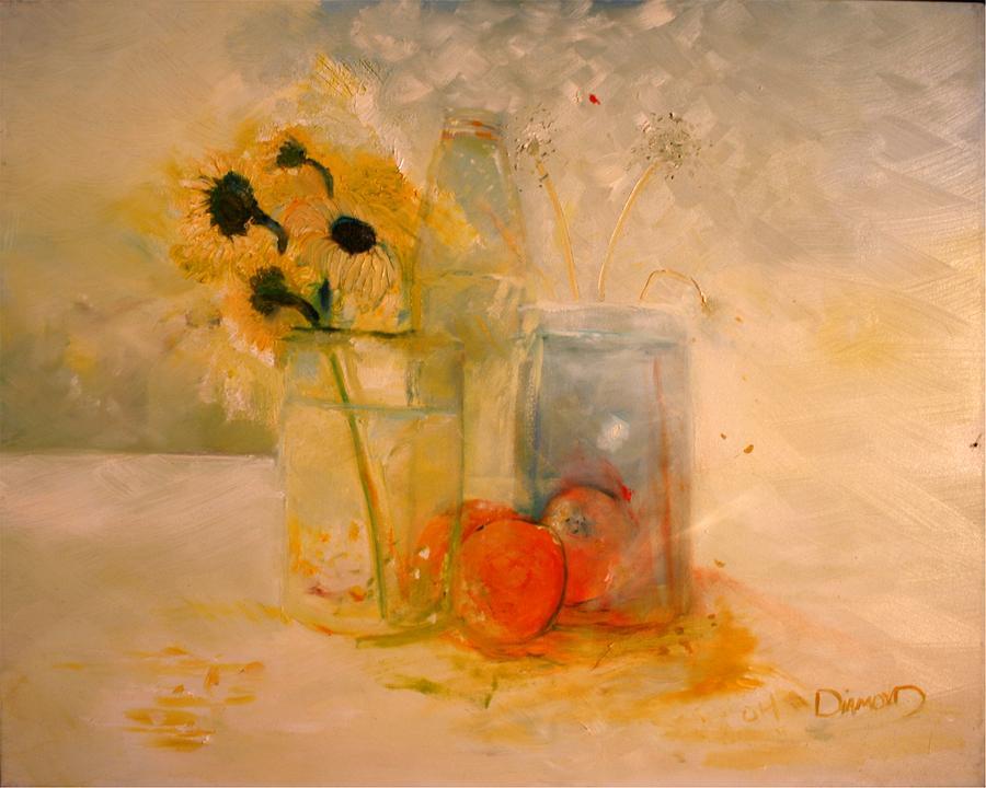 Daisey Painting - Summer Light by Jack Diamond