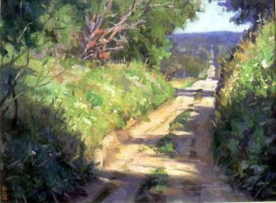 Summer Painting - Summer Light by Tony Bianco