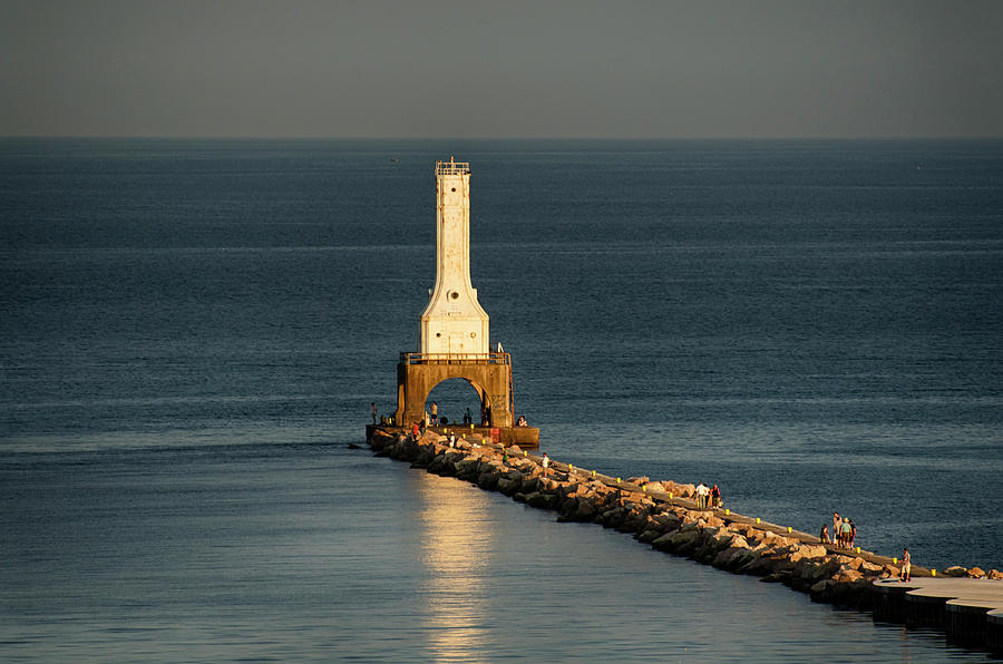 Summer Lighthouse by Dan Hefle