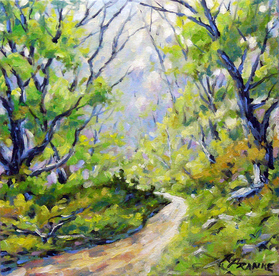Painting Painting - Summer Lights by Richard T Pranke