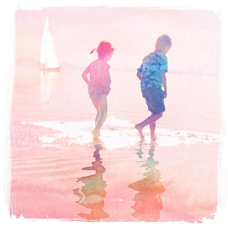 Summer Mixed Media - Summer by Mal Bray