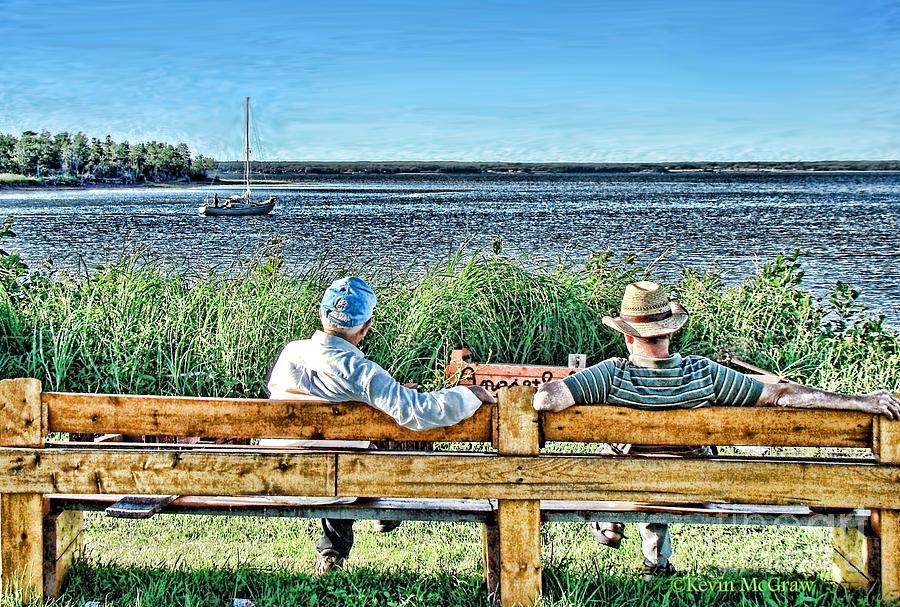 Ocean View Photograph - Summer Memories by Patricia L Davidson