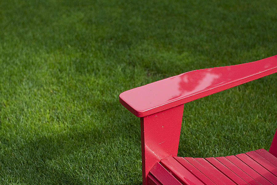 Chair Photograph - Summer Memories by Rebecca Cozart