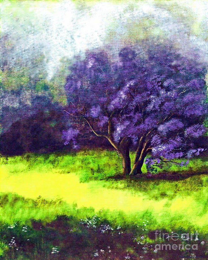 Acrylic Painting Painting - Summer Mist by Patricia Griffin Brett
