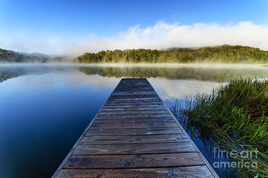 Summer Morning Dock Photograph