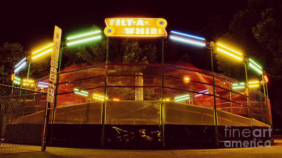 Summer Night At The Tilt-A-Whirl by Ever-Curious Geek