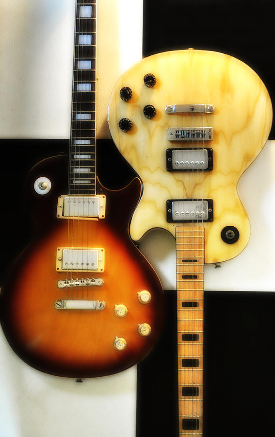 Les Paul Photograph - Summer Of 69 by Bill Cannon