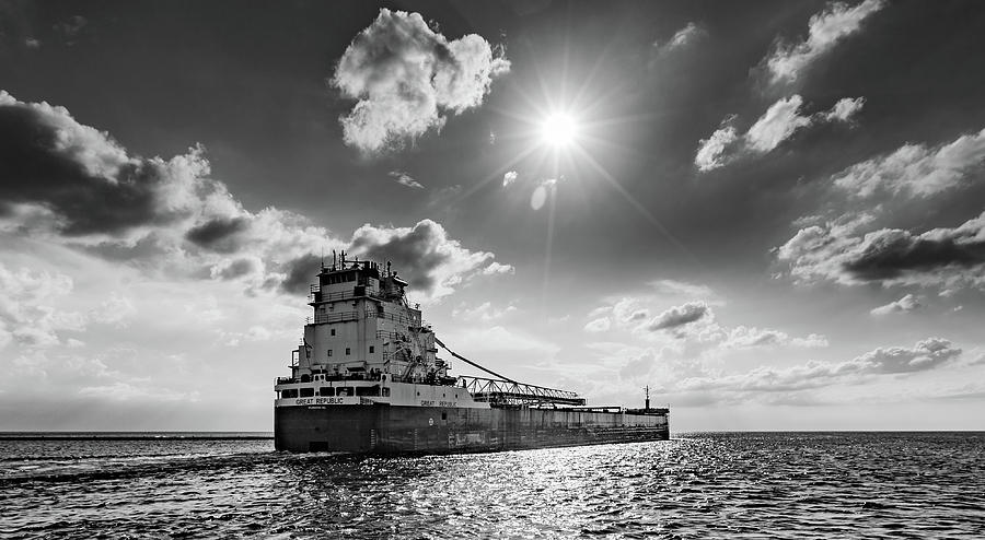Ship Photograph - Summer Of The Great Republic   by Fran Riley