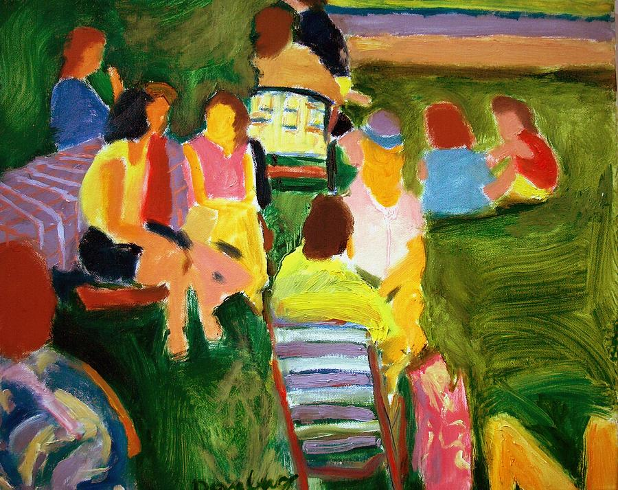 Summer Picnic Painting By Bob Dornberg