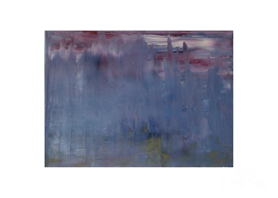 Abstract Painting - Summer Rain by Melissa M Conca