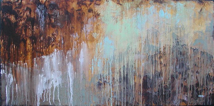 Abstract Painting - Summer Rain by Sabina Surya Naya