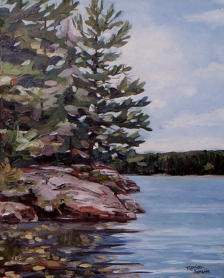 Original Painting - Summer Reflections by Monica Ironside