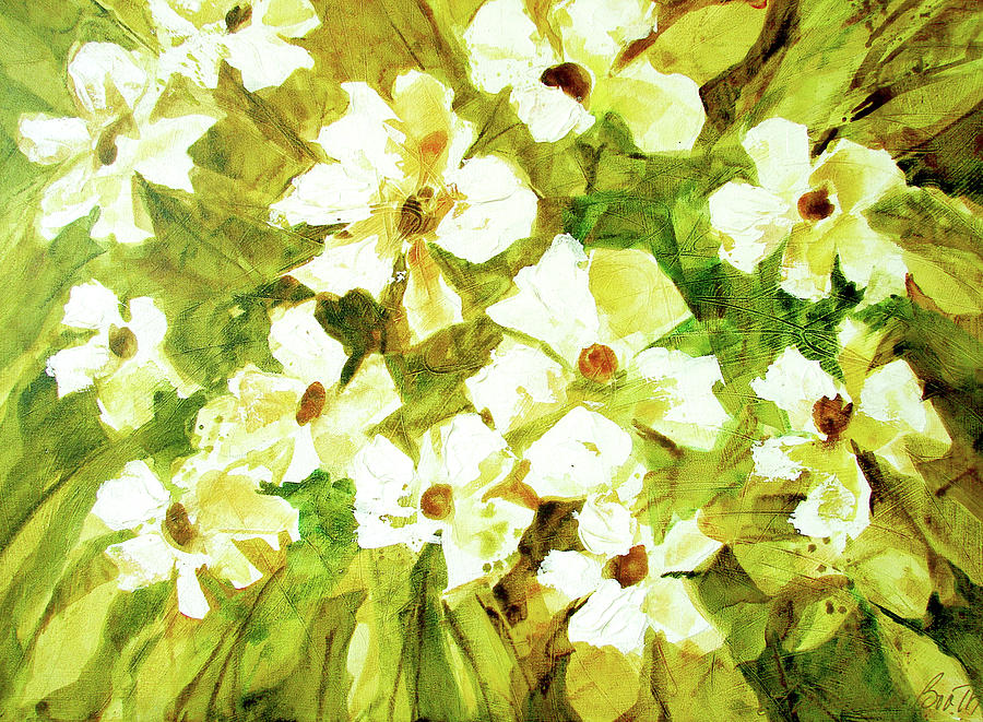 Flowers Painting - Summer Rhapsody by Filomena Booth
