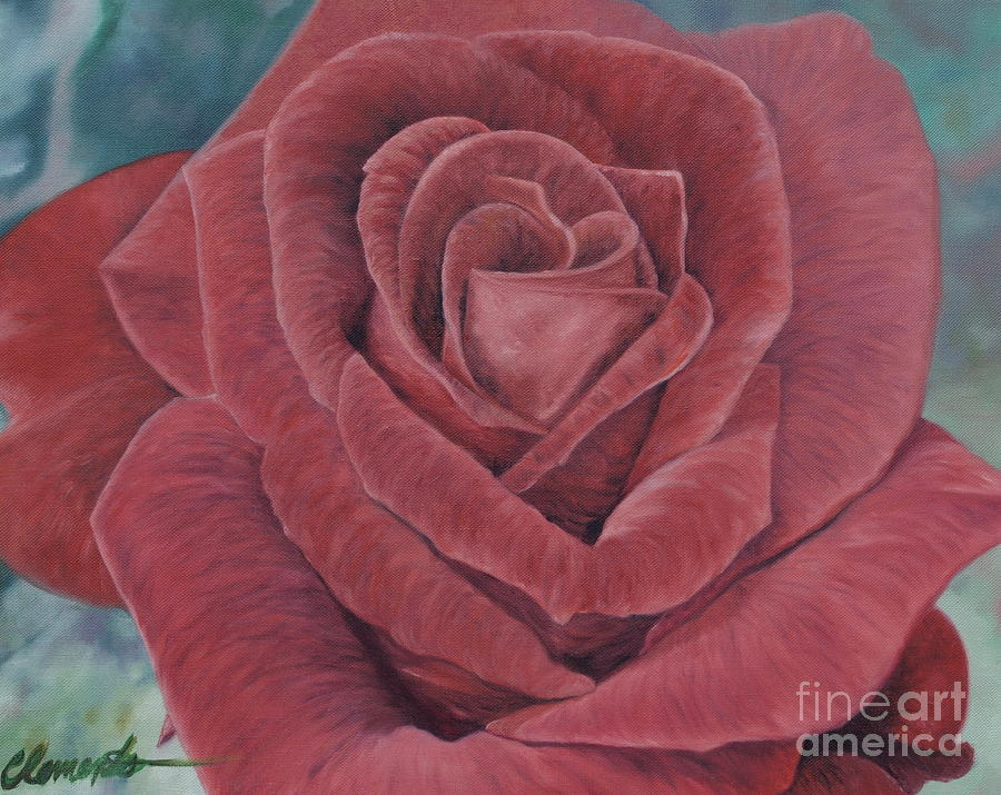 Rose Painting - Summer Rose by Barbara Barber