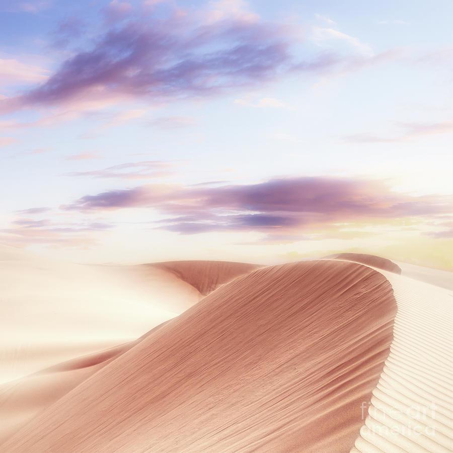 Summer Digital Art - Summer Sands by Phil Perkins