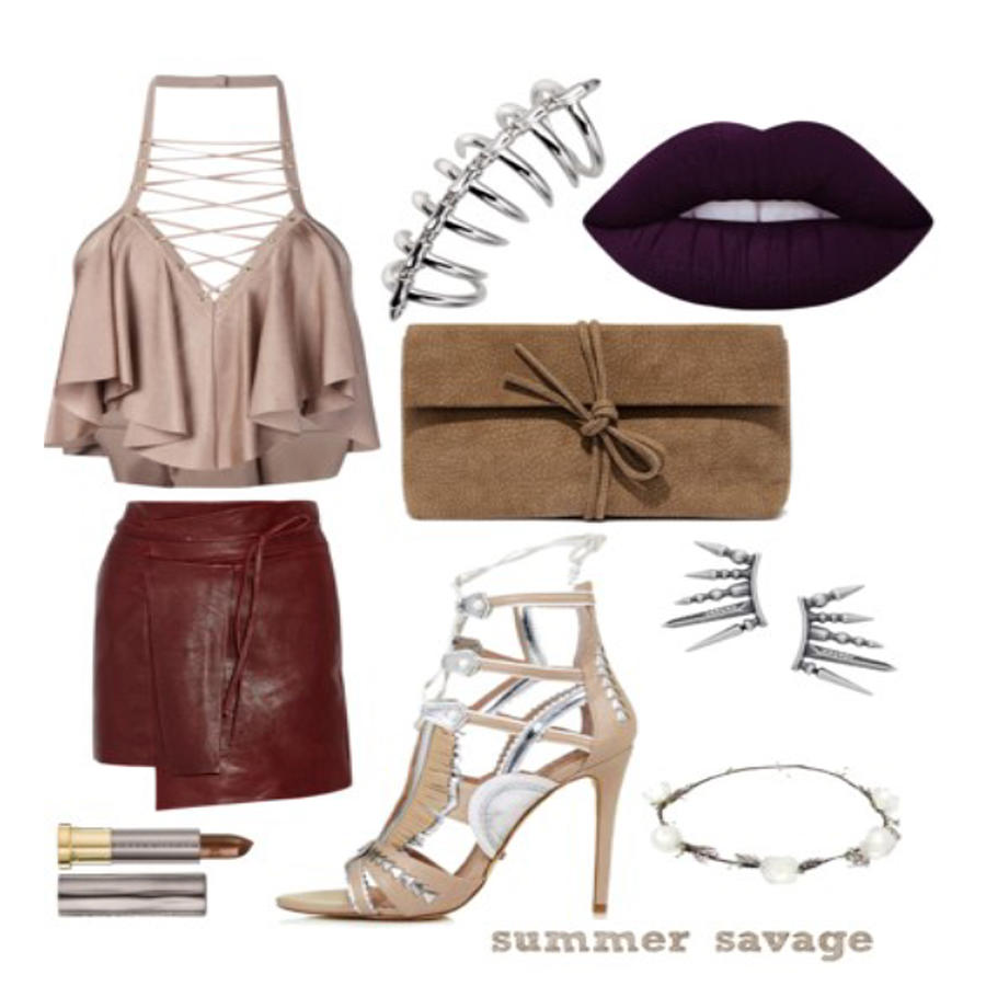 Savage Photograph - Summer Savage by Faith Bowman