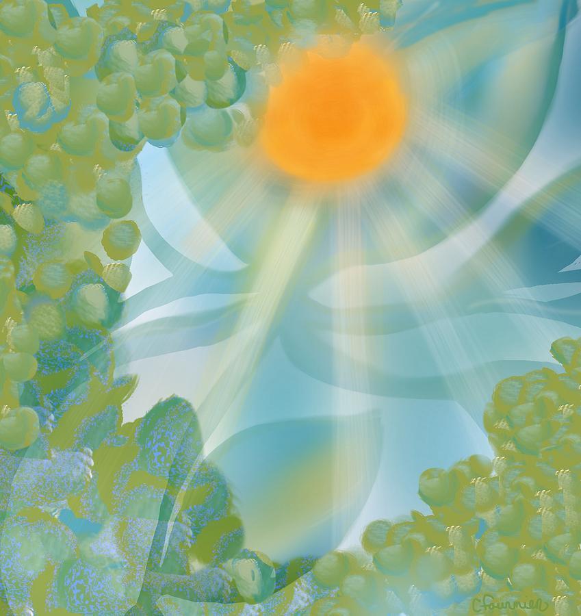 Summer shine by Christine Fournier