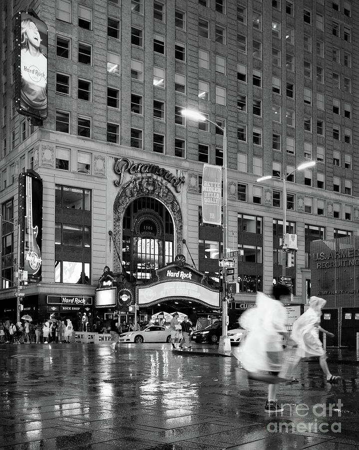Summer Shower, Times Square, NYC #130559 by John Bald