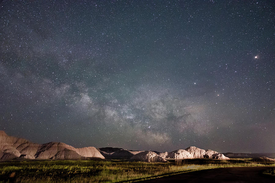 Summer Sky at Badlands  by Dakota Light Photography By Dakota