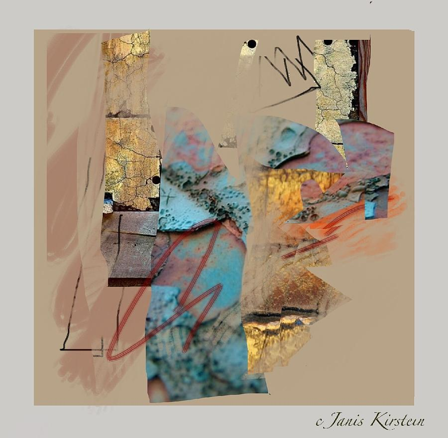 Mixed Media Mixed Media - Summer Slumber 1 by Janis Kirstein