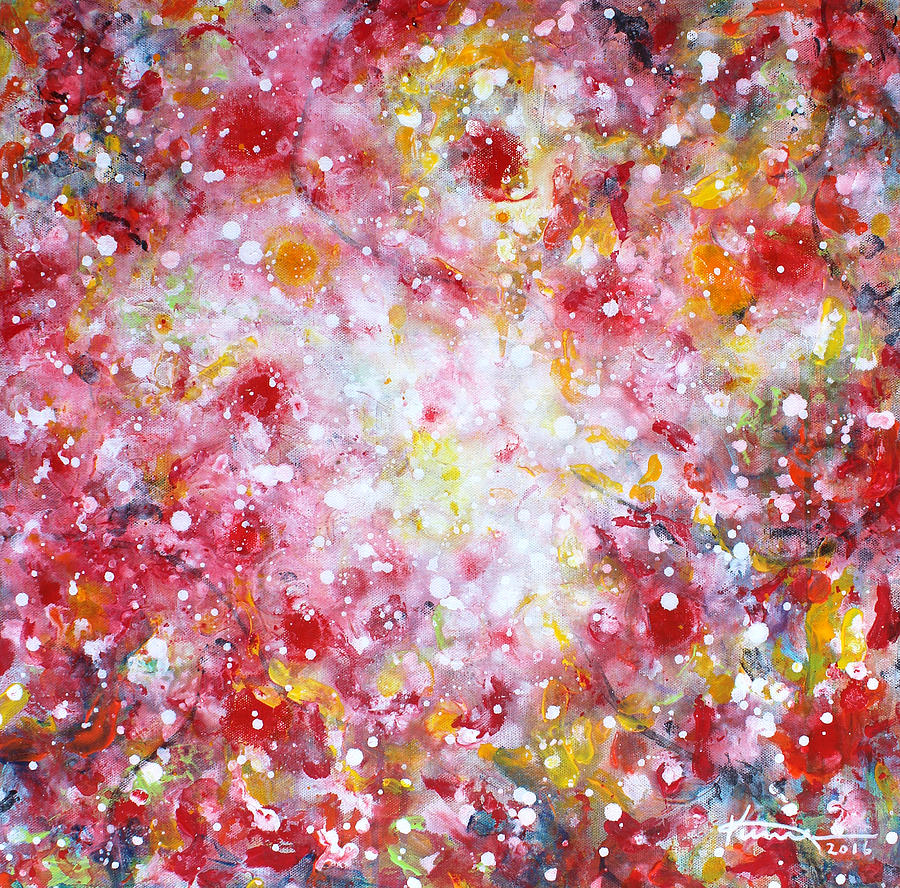 Solstice Painting - Summer Solstice by Kume Bryant