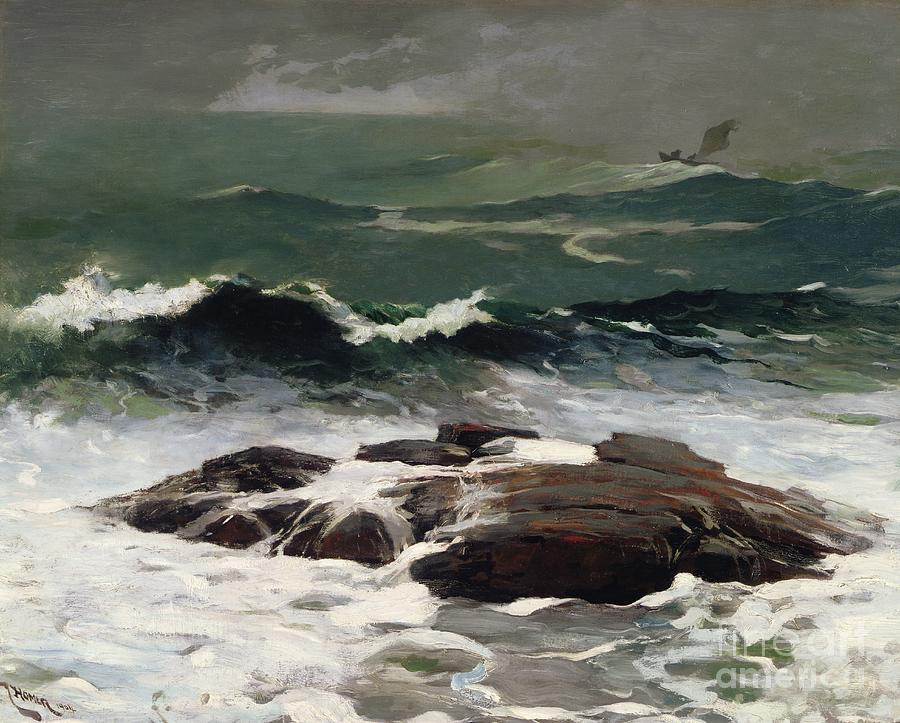 Seas Painting - Summer Squall by Winslow Homer