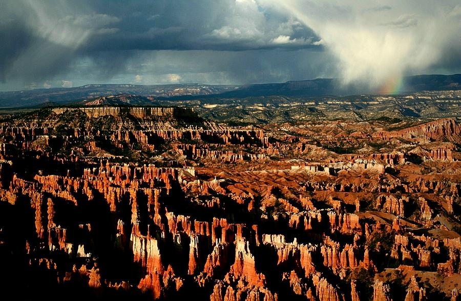 Bryce Photograph - Summer Storm At Bryce Canyon National Park by Jetson Nguyen