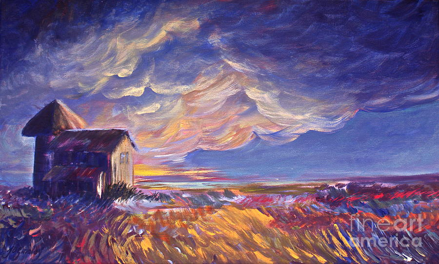 Lighting Painting - Summer Storm by Joanne Smoley