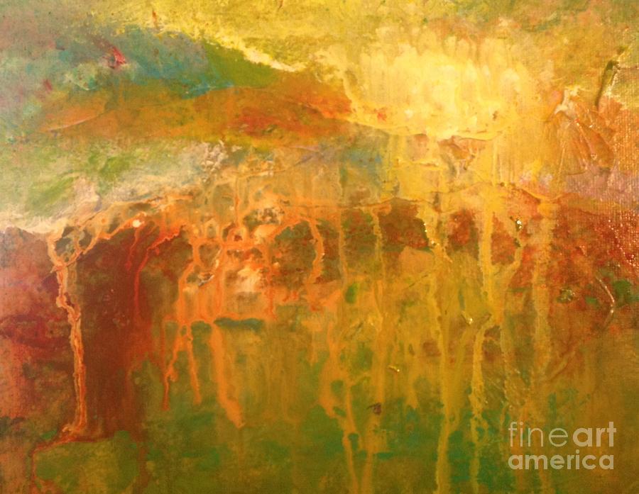Landscape Painting - Summer Storm by Terri Davis
