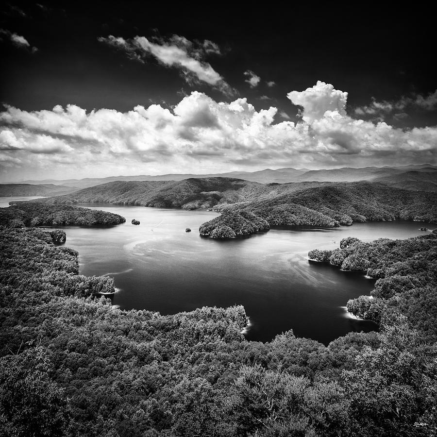 Summer Storms Over Lake Jocassee by Steven Llorca