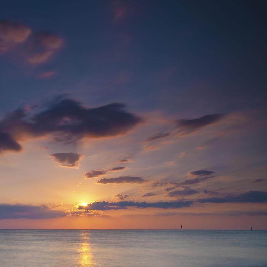 Water Photograph - Summer Sun by Ryan Heffron