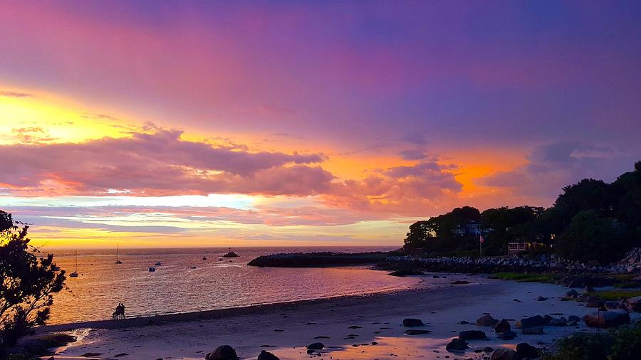 Summer Sunset After The Storm Photograph by Harriet Harding