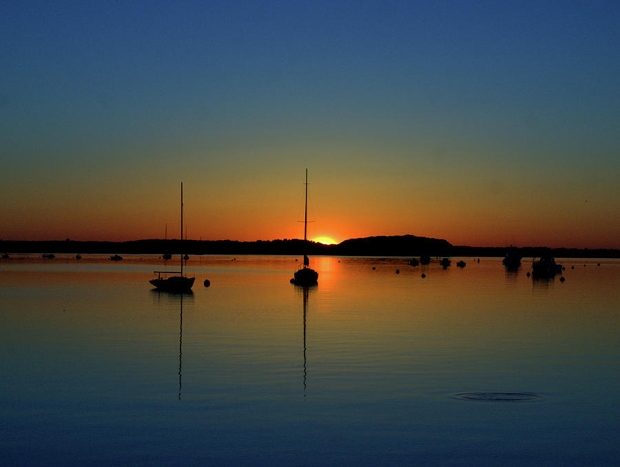 Summer Sunset Monument Beach by Bruce Gannon