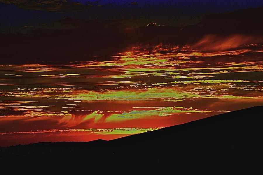 Summer Sunset Rain by Michael Courtney