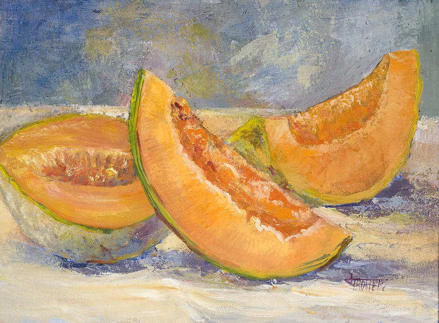 Fruit Painting - Summer Sweet by Jimmie Trotter