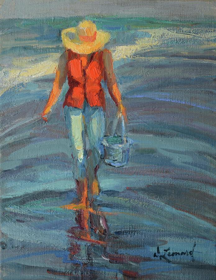 Summer Walk Painting
