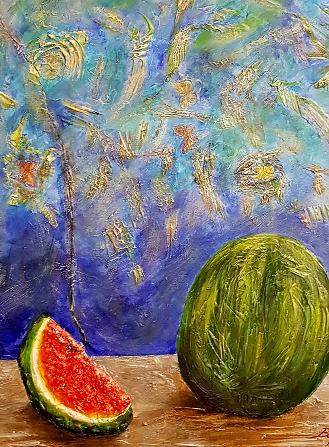 Summer watermelon hunt by Elwira Bernaciak