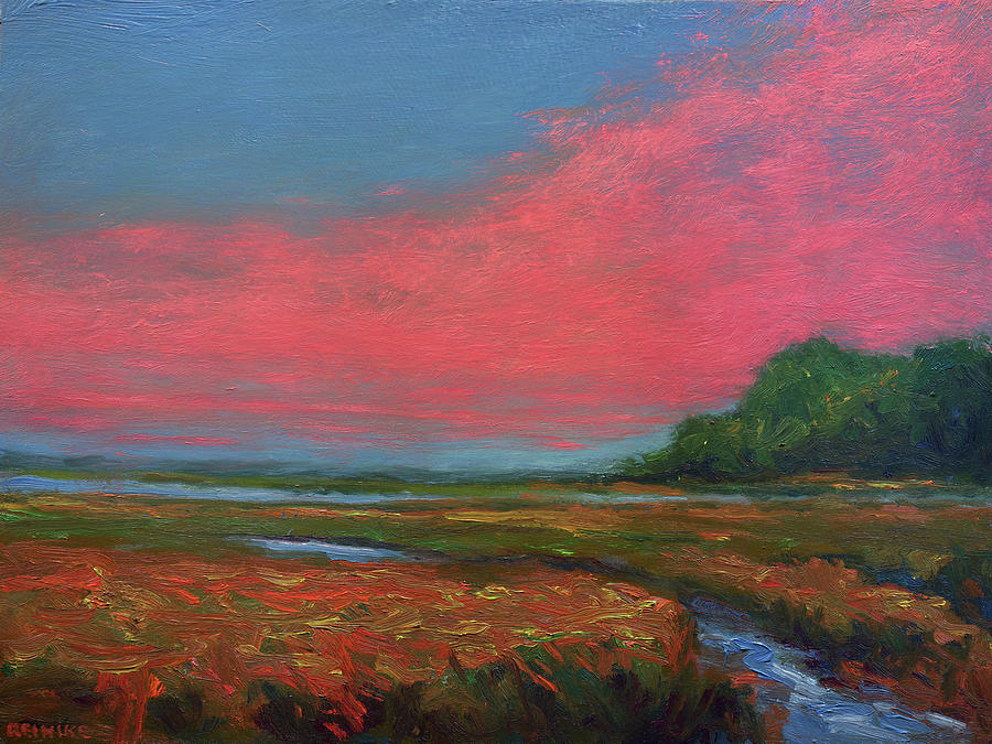 Summer Wetlands - To the Gulf by Vernon Reinike