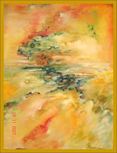 Summer Winds Painting by Dr Ruchi Vidyarthi