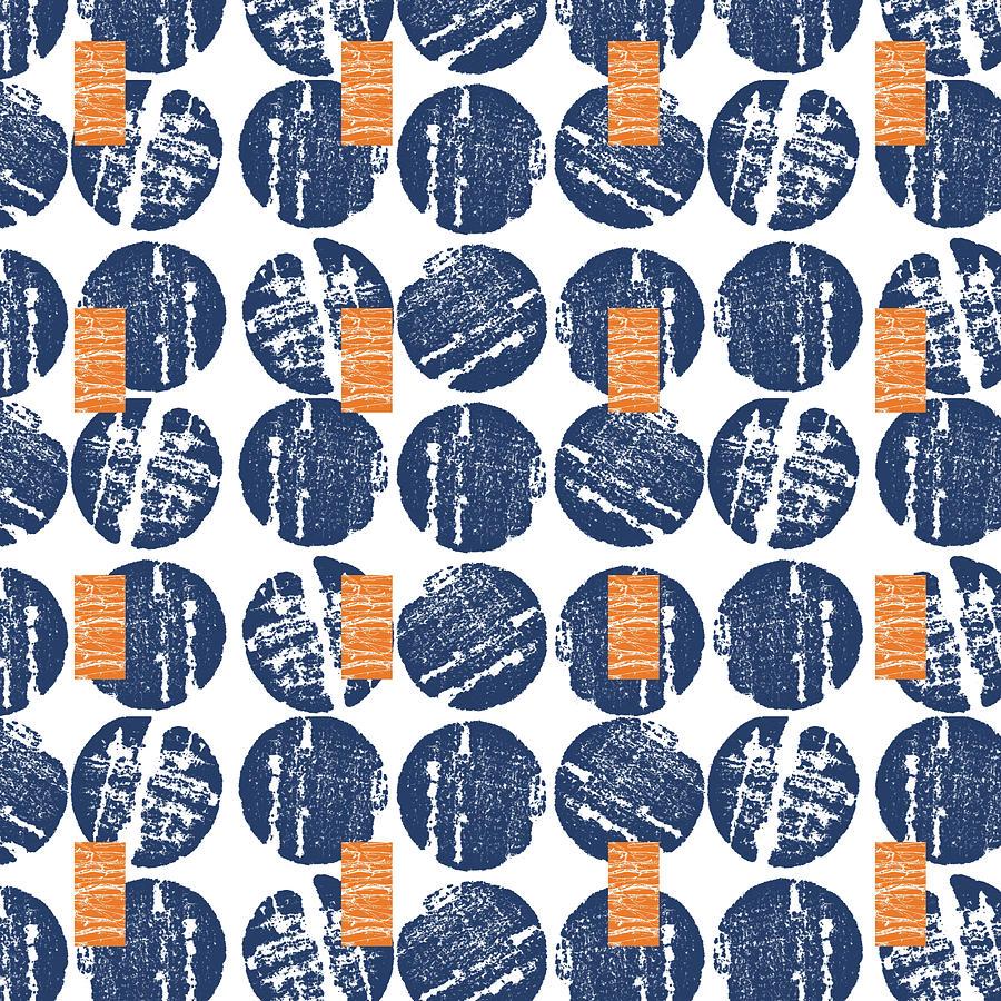 Pattern Mixed Media - Summer Wine Corks- Art By Linda Woods by Linda Woods