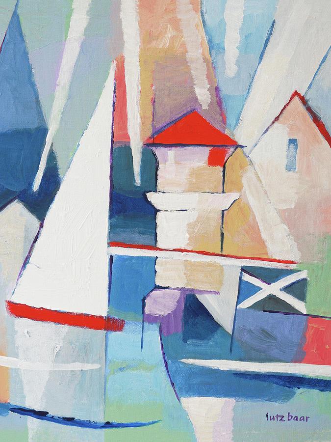 Modern Painting - Summercoast Painting by Lutz Baar