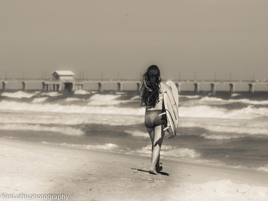 Beach Photograph - Summers End  by Kim Loftis