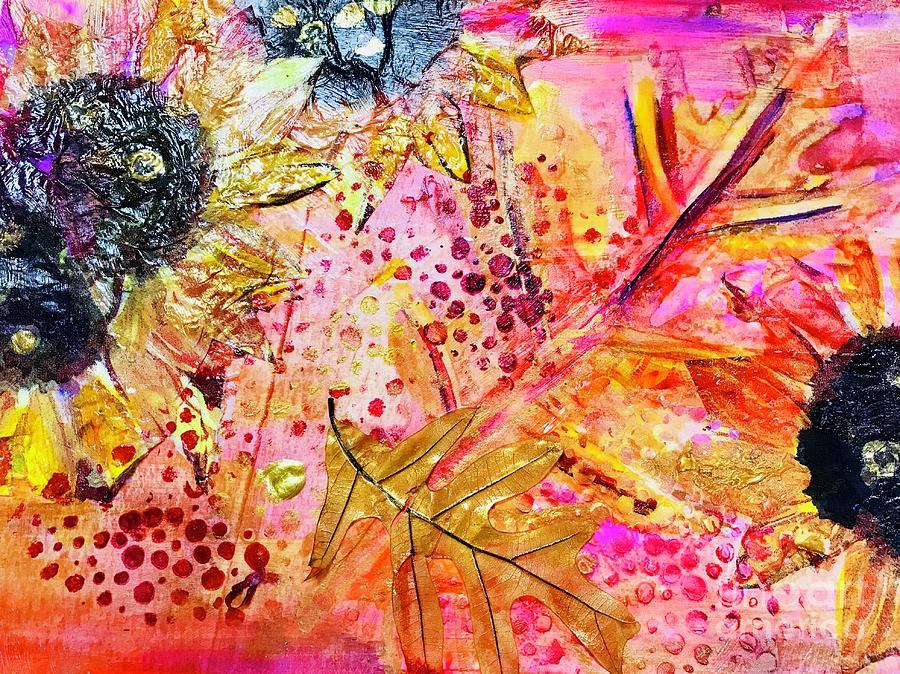 Collage Mixed Media - Summers Tears by Bridget Weber