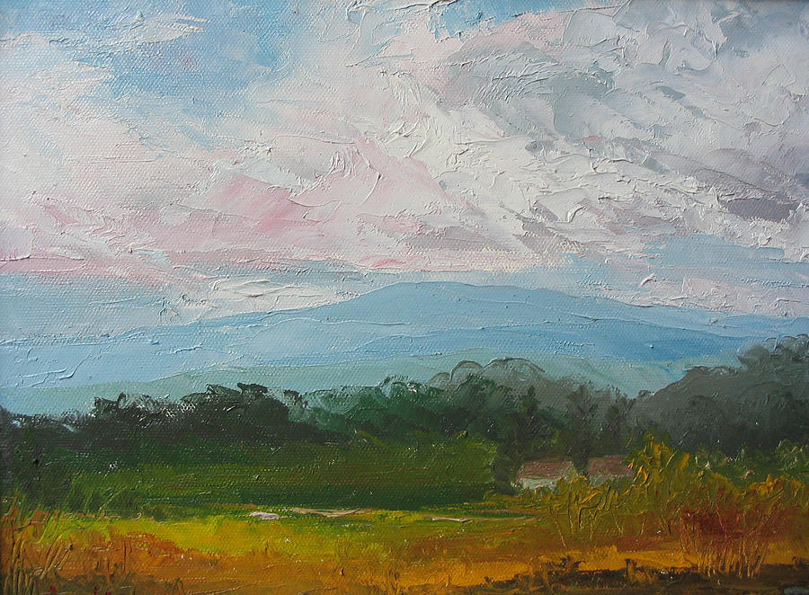 Landscape Painting - Summertime by Belinda Consten