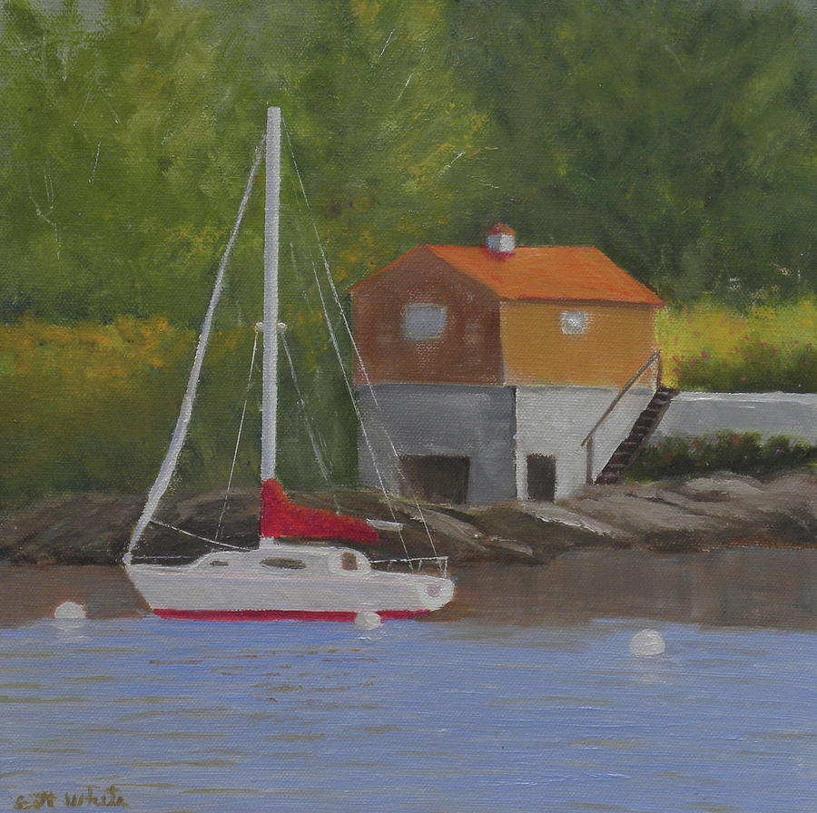 summertime mooring by Scott W White