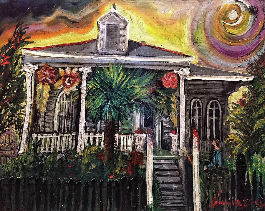 SUMMERTIME NEW ORLEANS by Amzie Adams