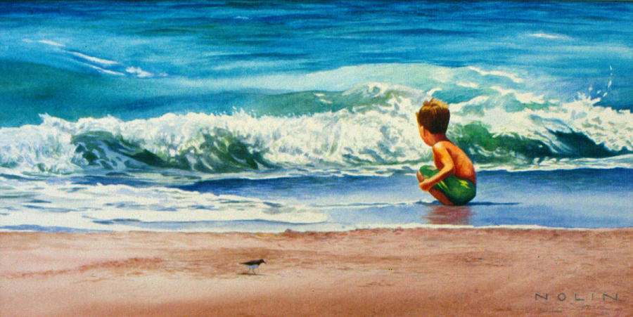 Summer Painting - Summertime Pals by Bob Nolin