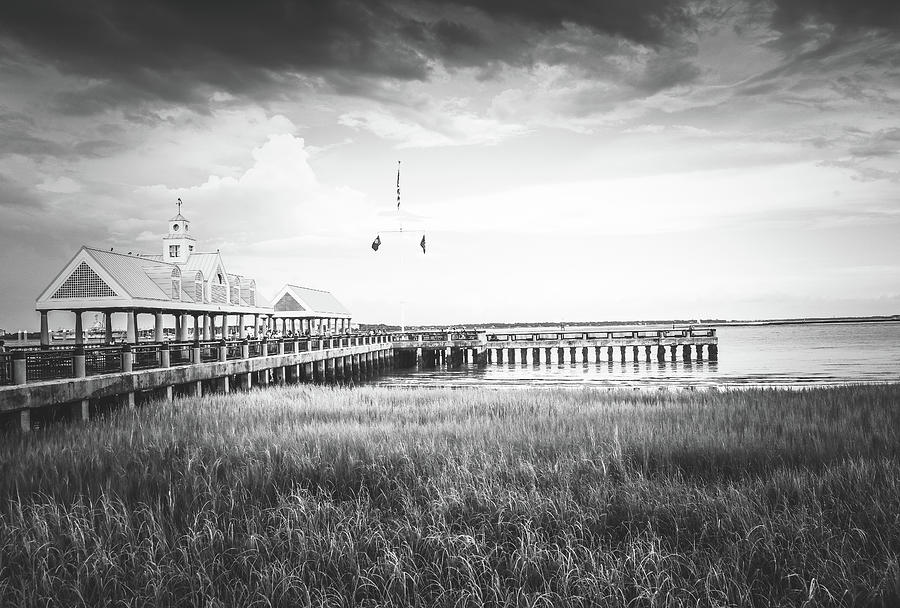 Coastal Photograph - Summertime Storms In Charleston by Dana Foreman